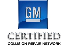 gm certified collision repair logo