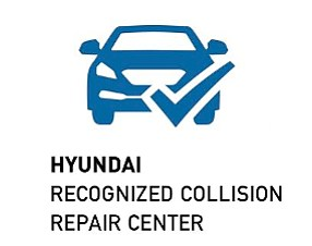 hyundai certified collision repair logo